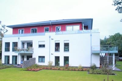 Neubau von 8 Wohneinheiten mit Tiefgarage